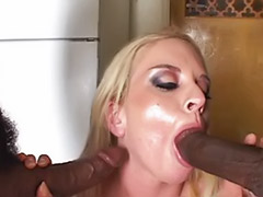 Threesome blonde black, Interracial threesome anal blonde, Interracial double vaginal, Interracial cream, Find, Double vaginal cream pie