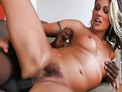 Interracial deepthroat big tit anal videos