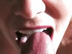 Milf swallow