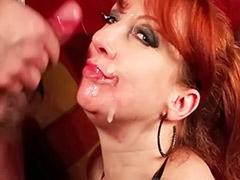 Mature redhead, Hot milf licked, Redhead mature