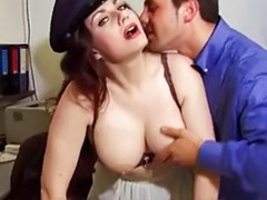 Vintage anal, Mature threesome, Italian