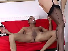 Youngers, Younger, Stockings mature, Stocking sluts, Stocking mature fuck, Stocking mature