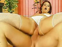 Toying both holes, Toying both hole, Redhead lingerie blowjobs, Redhead lingerie anal, Redhead anal toy, Masturbate both