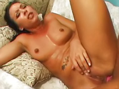 Toy in her ass, Rimming black ass, Julie big ass, Black ass rimming, Big ass anal swallow cum, Cum in her hair