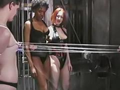 Tied lesbian, Tied femdom, Tied ebony, Redhead latex, Redhead femdom, Redhead bondage