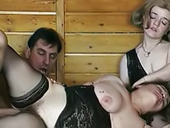 Threesome chubby, Stockings chubby, Stocking chubby, Hairy stockings fuck, Hairy horny, Hairy black stockings