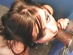Worshipping cock, Sasha p, Sasha g, Oral worship, Interracial gloryhole, Interracial glory hole