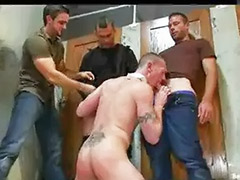 Jerk sucking, Jerking dick, Group jerk, Gay sucked off, Gay suck off, Gay bound