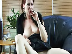 Smoker, Milf domination, Dominant milf