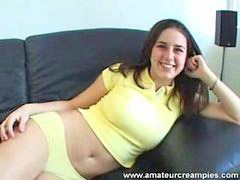 Creampie, Video, Teen creampie