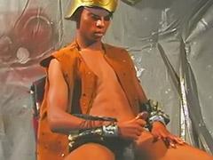 Gladiator, Cum on ebony
