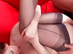 Stocking mature fuck