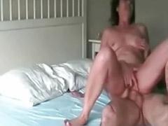 Mature anal creampie