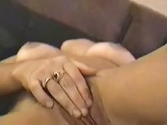 Solo orgasm, Busty solo
