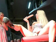 Strippers, Stripper, Sitting, Sit on dildo, Massive dildo, Massive