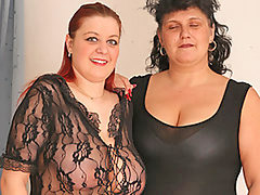 Bbw, Lesbian, Stocking