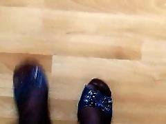Stockings slave, Stocking slave, Stocking heels, Slave heel, Heels, ضربوحبل واطواق slave