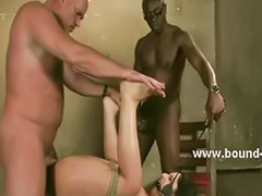Threesome caught, Punished threesome, Slave threesomes, Slave threesome, Caught threesomes, Caught threesome