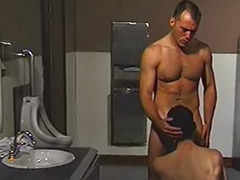 Toilet wank, Toilet gay sex, Toilet gay cum, Toilet gay, Toilet anal, Toilet masturbating