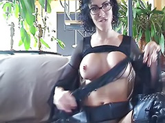 Tits boots, Solo leather, Solo latex, Solo in boots, Solo boots, Leather solo
