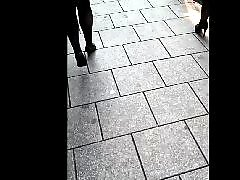 Voyeur public, Tattoos, Public street, Street ass, Ass voyeur, Ass street