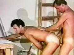 Muscular handjobs, Gay work