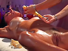 Tit spanking, Tit spank, Perverse massage, Massage lesbian big, Lesbian big tits massage, Lesbian tit massage