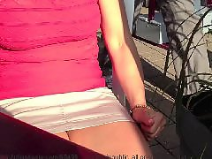 Upskirt flashing, Public upskirt, Public flashing, Public flash, Shorts, Short short