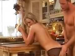 Pantyhose cum, Pantyhose blowjob, Pantyhose anal, Sex in kitchen, Kitchen sexs, Kitchen cum