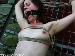 Submissive girl, Submissive, Submissed, Solo bondage, Big titty girl, Big solo titties