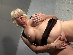 Old, Granny, Squirt, Saggy, Granny squirt, Milf