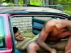 Sex car cock, Outdoor suck, Outdoor rimming, Driving 자위, Driving gay, Driving cum