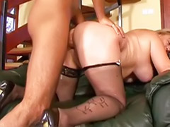 Hairy stockings, Big tit hairy, Anal blonde mature, Titfuck stockings, Titfuck anal, Pounding ass