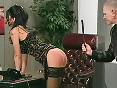 Submissive spanking, Submissive, Submissed, Stockings spank, Stocking spanking, Stocking spank