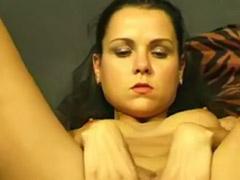 Solo black fingering, Black girl fingering