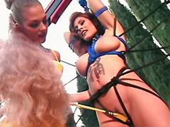 Tits bondage, Tit spanking, Tit spank, Tit bondage lesbians, Tit bondage, Wonderland