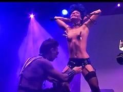 Public showing, Public show, Public bondage, Striptease show