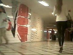 Voyeur legs, Voyeur blonde, Voyeur blond, Voyeur amateur, Leggings voyeur, Leggings