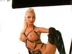 Vicky, Vicki b, Sexy scene, Sexy big tits solo, Making of, Behind the scenes solo