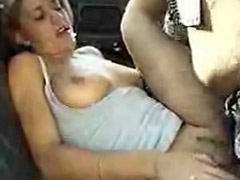 Sex nice girls, On car, Backseat
