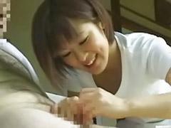 Japan handjob