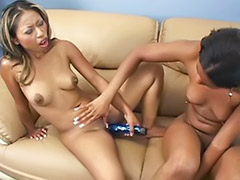 Toying ebony, Ebony toys, Ebony toying, Ebony toy, Ebony strap on, Ebony lesbians masturbating