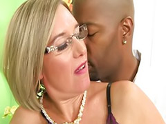 Stockings glasses, Matures interracial, Mature glasses, Mature cock cum, Interracial matures, Interracial mature