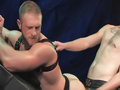 X master, Toy and cock, Servant anal, Masters, Deepthroat bondage, Gay big ass cum
