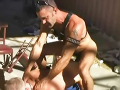 Leather loves, Leather gay, Lovely gay, Fetish group, Group gay bareback, Group bareback