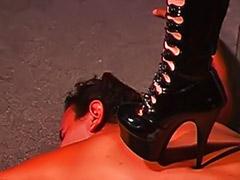 Nurse femdom, Latex nurses, Latex femdom, Latex boots, Latex boot, Femdom torture