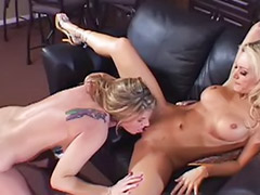 Pussy on pussy lesbians, Licking the pussy, Lesbian on couch, Lesbian big tits lingerie, Lesbian big pierced tits, High heels,couch