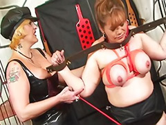 Tied lesbian, Tied femdom, Tied and toyed, Tied toy, Tattoo bdsm, Toy and mature
