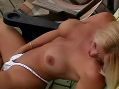 Rubbing clit, Rub clits, Solo clit, Hunter, Brooke hunter, Blonde rubbing