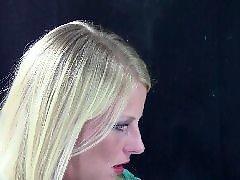 Voyeur blonde, Voyeur blond, Nico c, Nico, Green, Gloves gloves